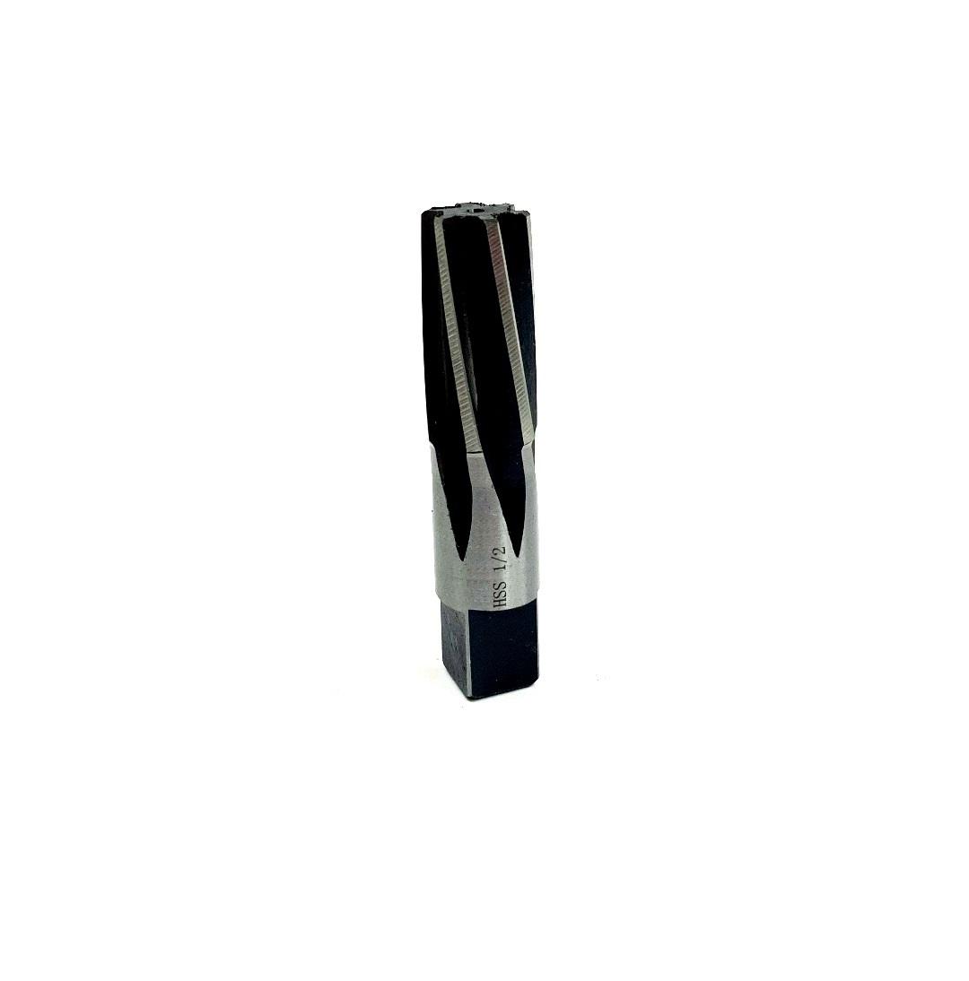 """MF113818163 1//8/"""" 4-Flute Carbide RH Cut LH Spiral Reamer"""