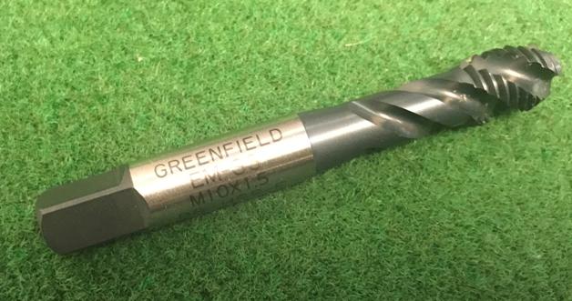M10 x 1.5 Metric Spiral Flute D6 Plug CNC HS Tap New
