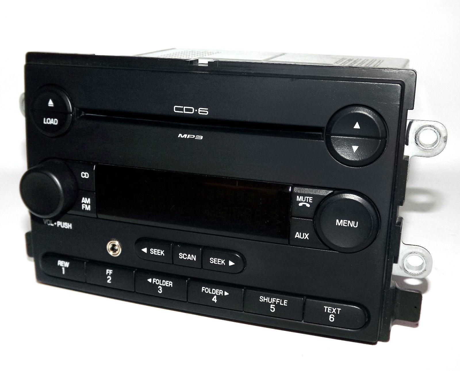 Ford Freestyle 06 07 Am Fm 6 Disc Mp3 Cd Radio W Aux Input Part Karaoke  Machine Wiring Diagram Auxillery Ipod Wiring Diagram Ford