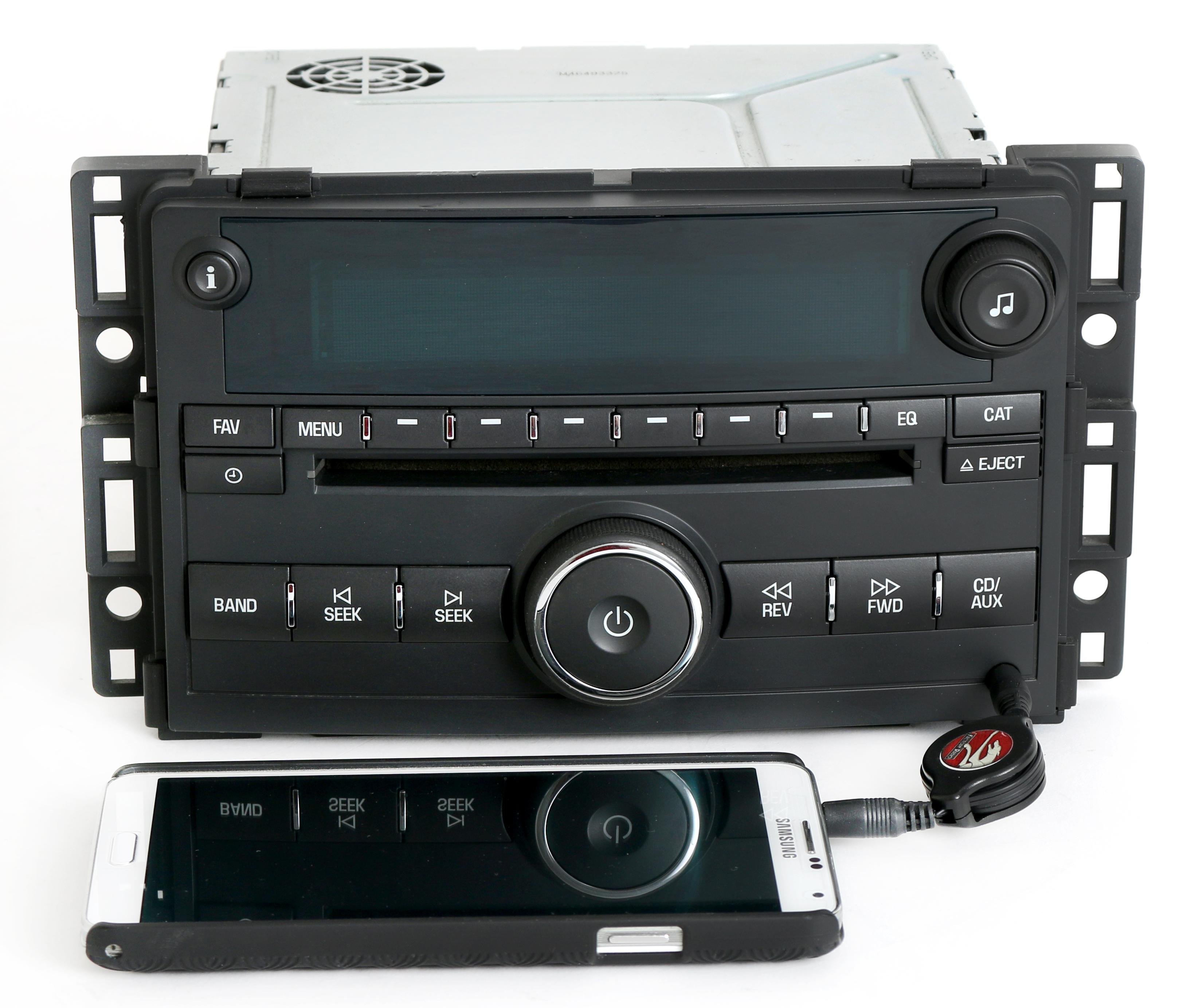 Pontiac G5 & Chevy Cobalt 2007-2008 AM FM CD Aux Input Radio - GM Part  22714657 - 1 Factory Radio