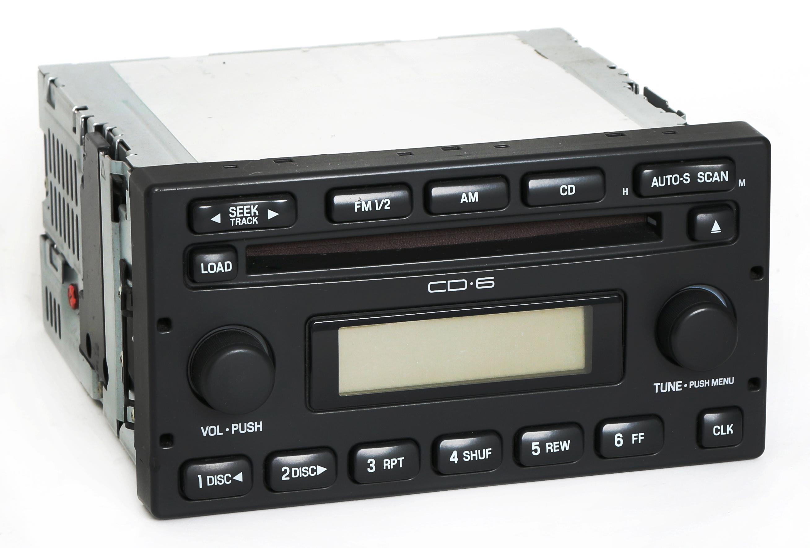 Ford Escape Mercury Mariner 2005-2007 Radio AM FM 6 Disc CD Part  5L8T-18C815-EC - 1 Factory Radio