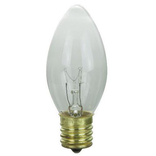 Sunlite 7w C9 120v Intermediate Base Clear Bulb 25 Light Bulbs Ebay