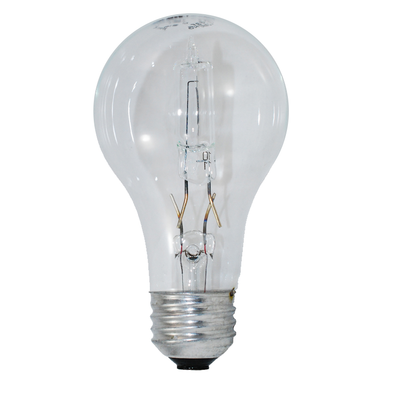 GE 53W A19 Halogen Clear Energy-Efficient
