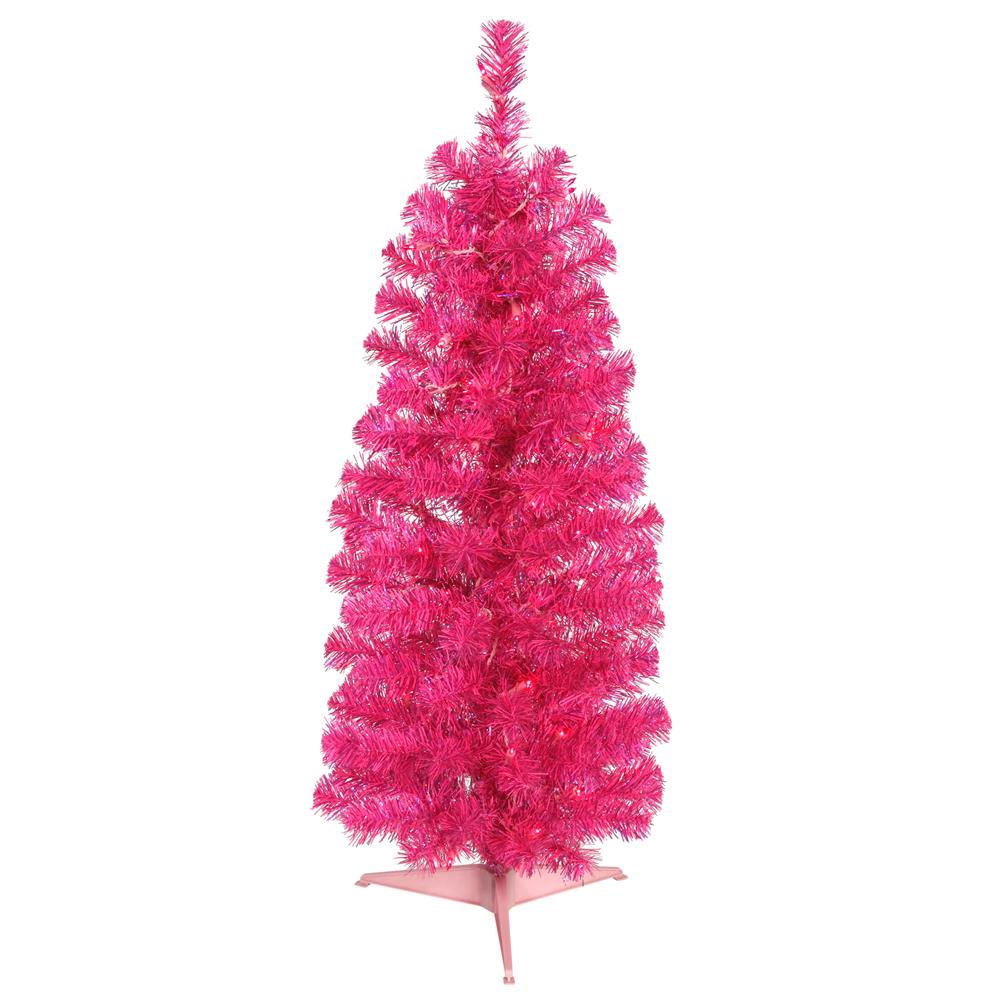 Fine Pink 3 Foot Christmas Tree Sears Com Easy Diy Christmas Decorations Tissureus