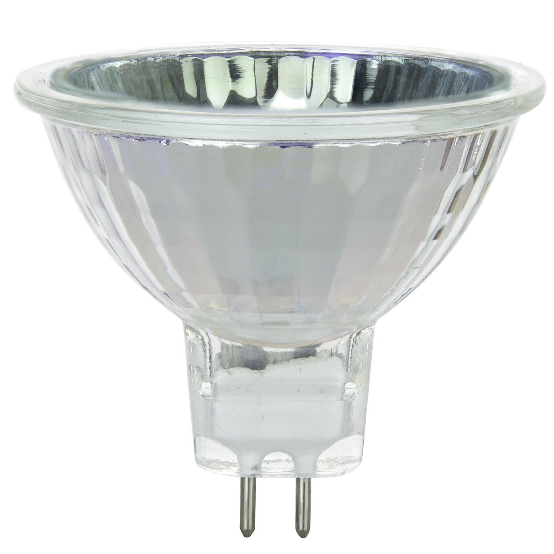 Fmw E26 Mr16 Halogen Light Bulb: SUNLITE FMW 35w 12V MR16 W/ Front Glass Flood FL38 Halogen