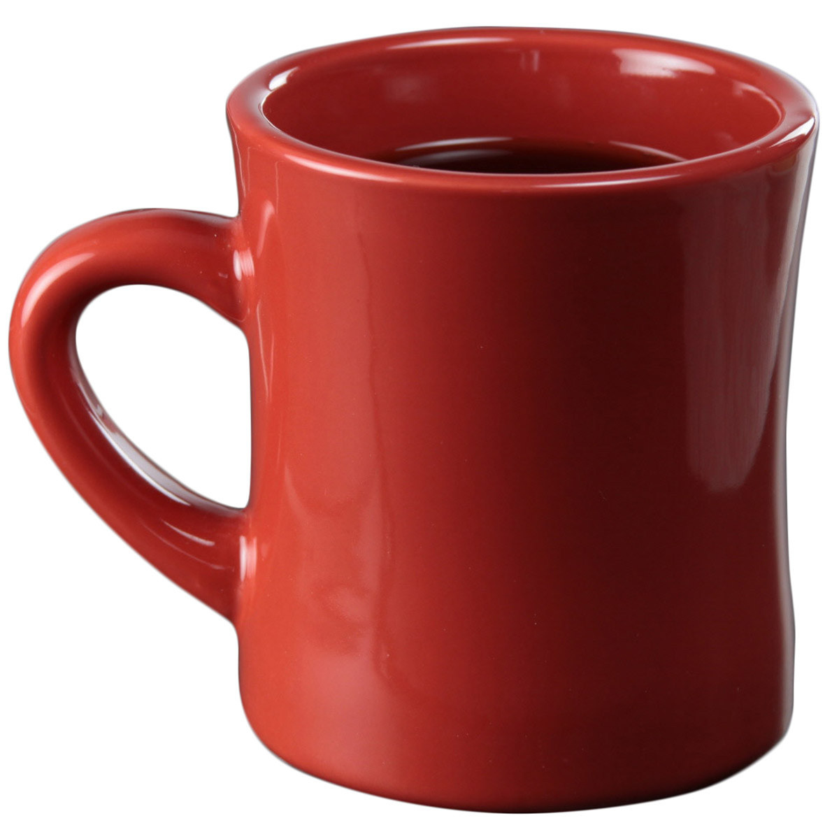 Diner Coffee Mug Stanford Red Ceramic Thick Walled