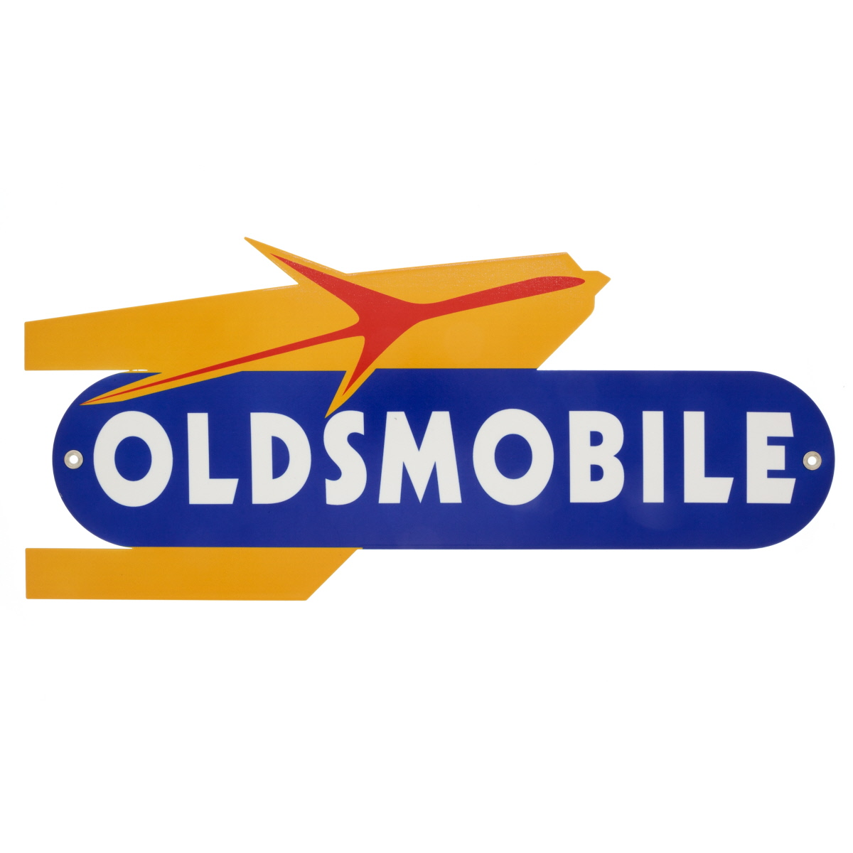 Oldsmobile Rocket Logo Metal Sign Reproduction Man Cave Garage Decor 18 X 8