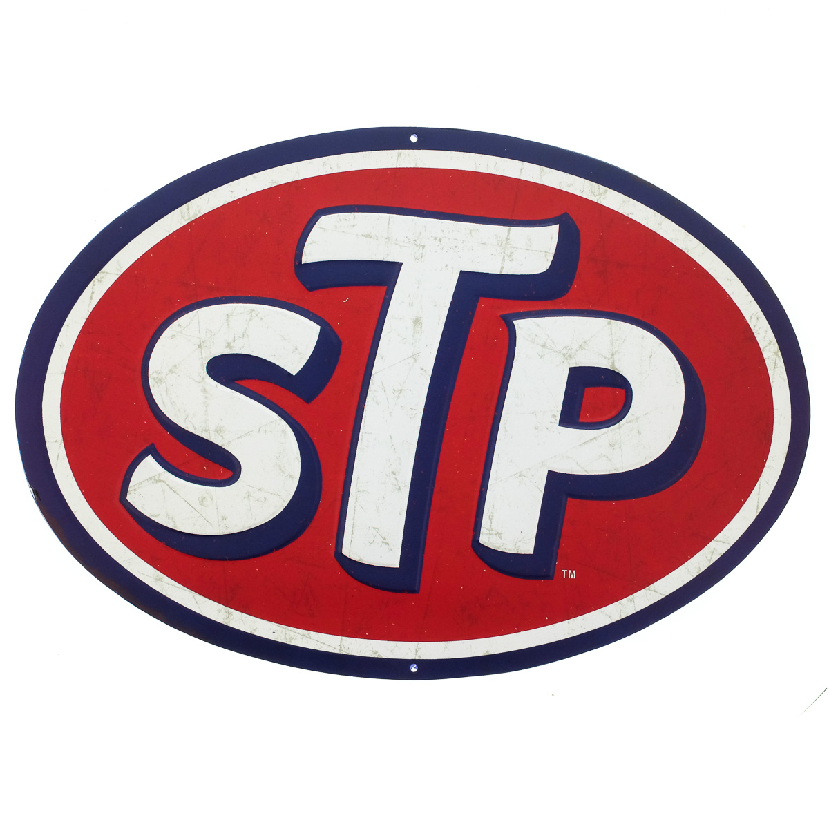 Candy Wall Stickers Stp Motor Oil Logo Embossed Tin Sign Vintage Style Garage