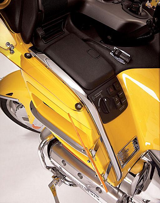 Show Chrome Fairing Face Moldings Fits Honda GL1800 Gold Wing 2001-2010