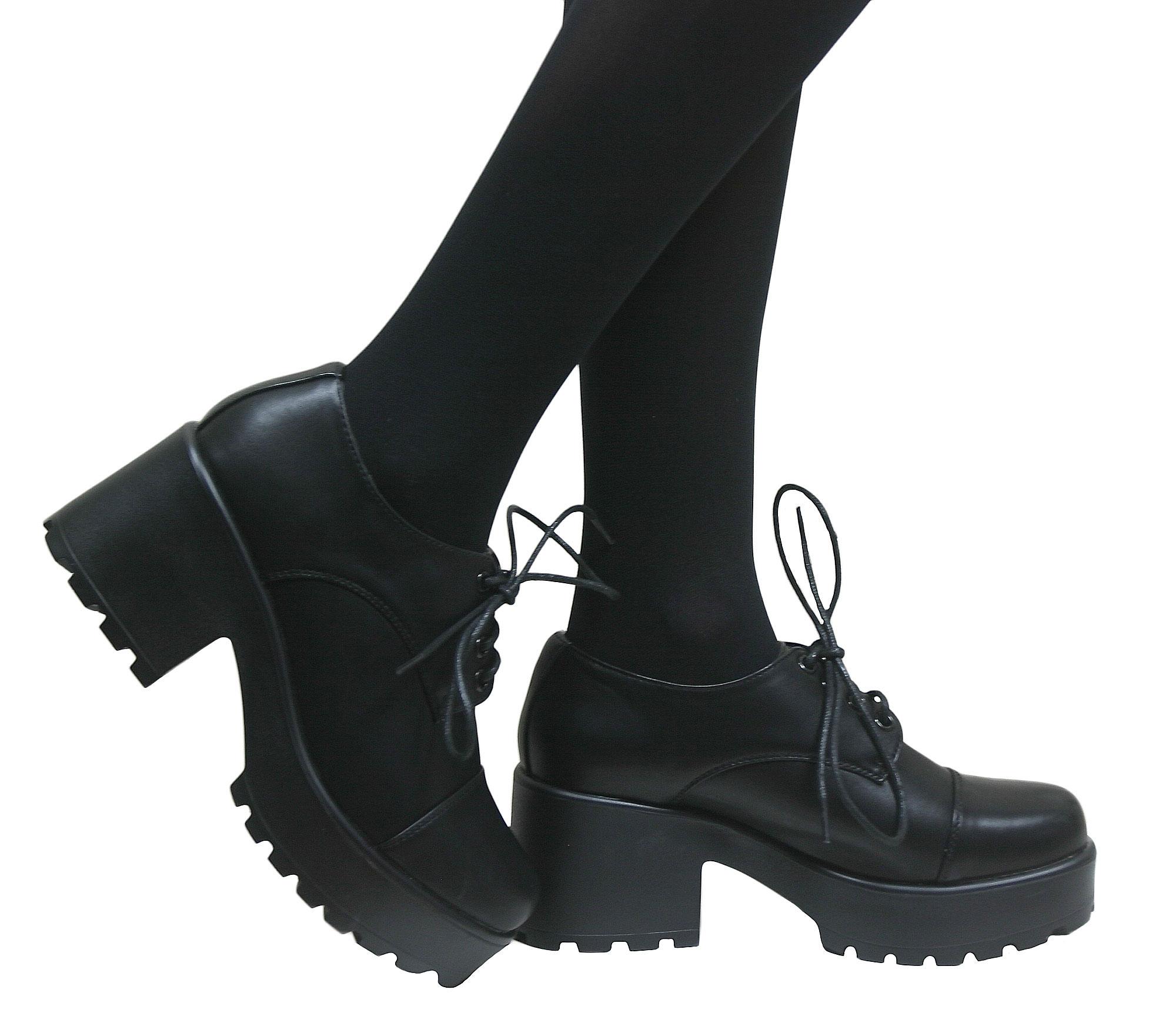 Chunky Girl School Shoes