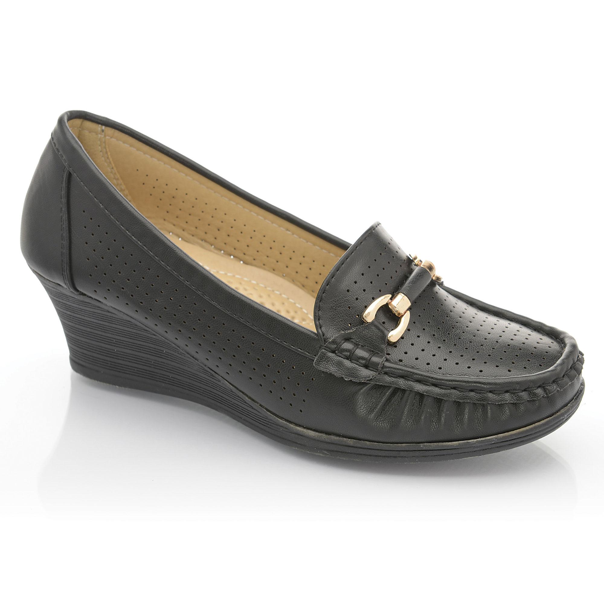 M S Ladies Wide Fit Shoes