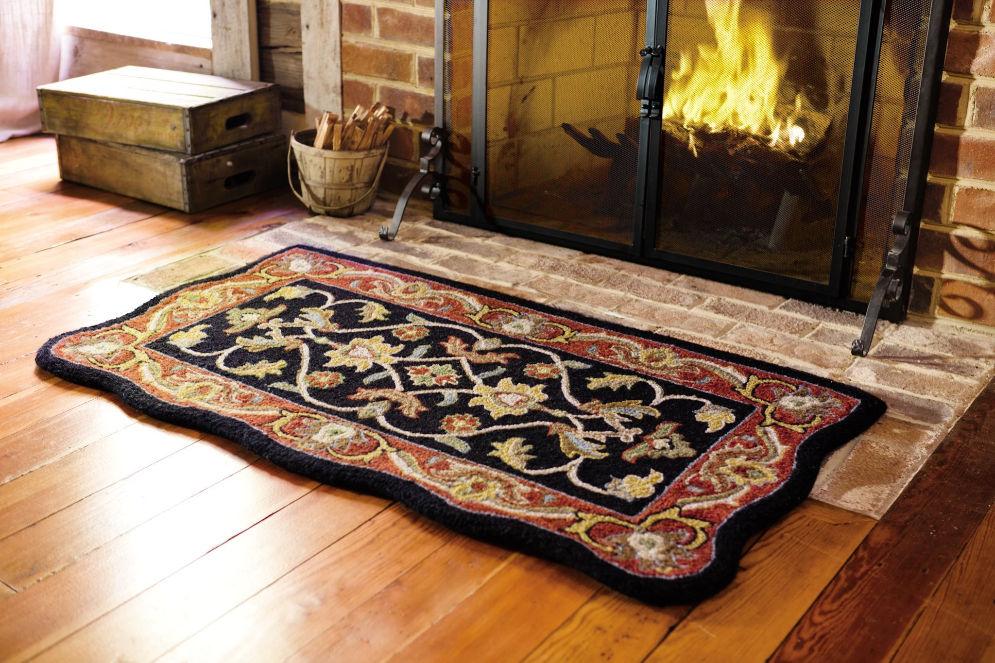 rooms modern colorful design home mats fireplace gallery mat to fireproof