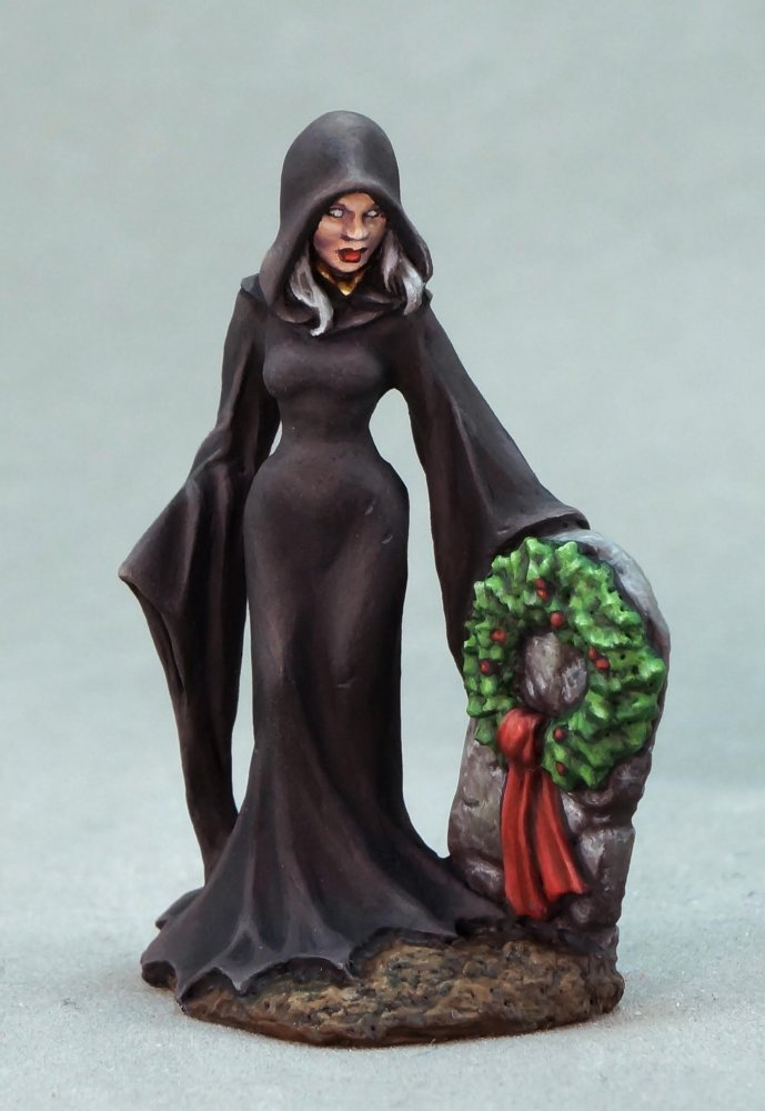 Reaper Mini Ghost of Christmas Yet to Come (2019) #01643 Unpainted Metal Figure 762486016431   eBay