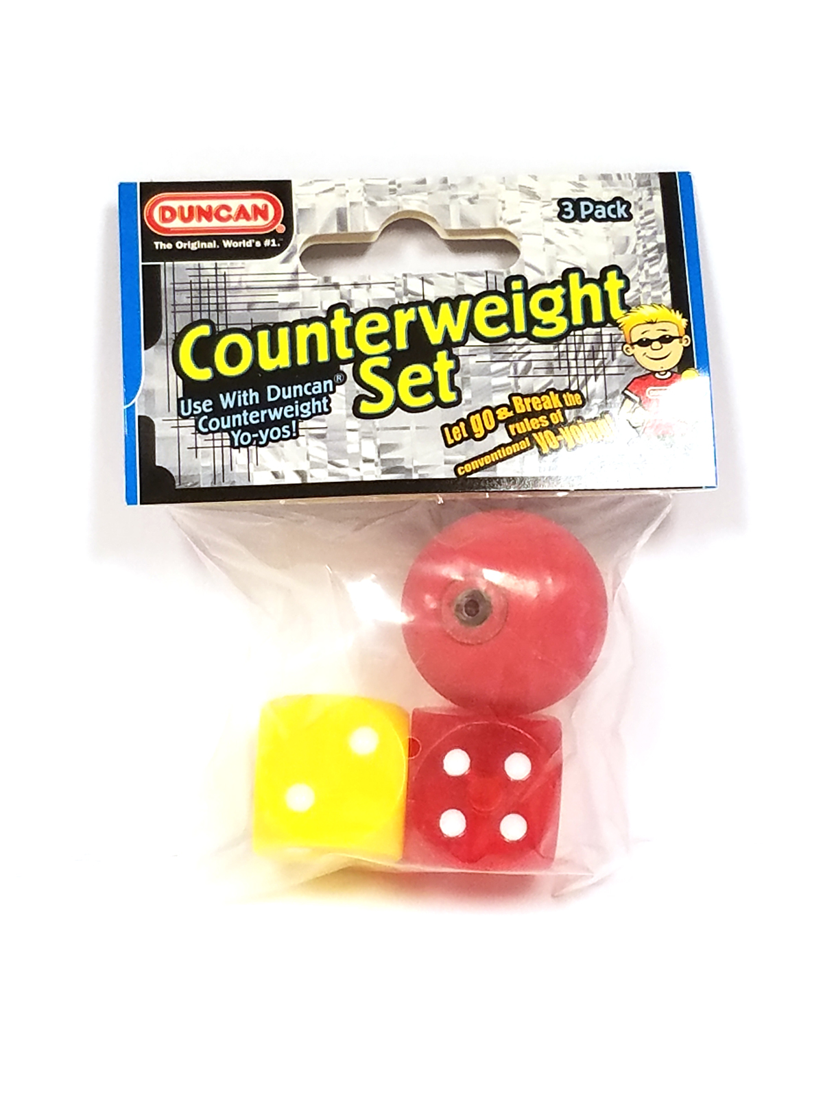 Single Dice Counterweight Duncan Counterweight