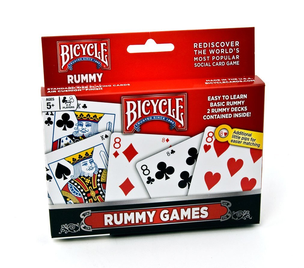 Bicycle 2-Pack Euchre Games Tuck Case
