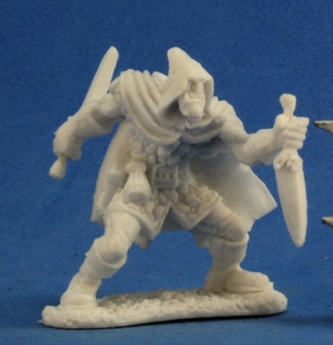 REAPER BONES II KICKSTARTER 77224 Rogan Half Orc Rogue