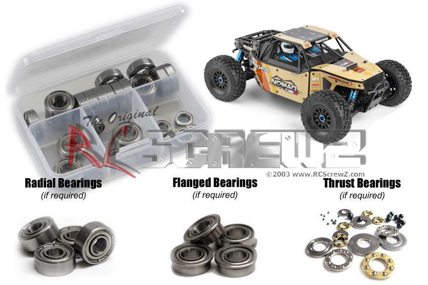 RC Screwz Metal Shielded orsoing Kit for squadra Associated Nomad  DB8 (80941)  sconto online