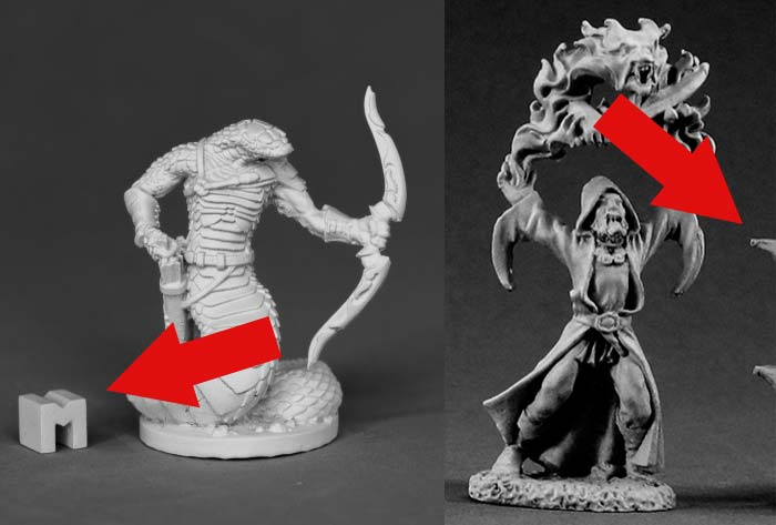 Reaper Miniatures Metal Models