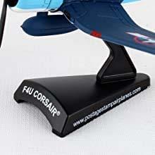 Postage Stamp Airplane Models