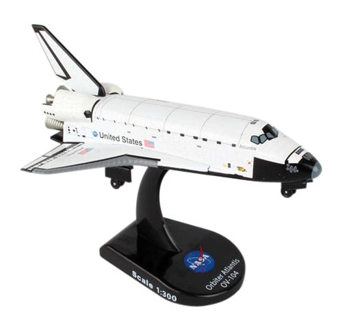 Daron Postage Stamp Space Shuttle Atlantis 1/300 Diecast ...
