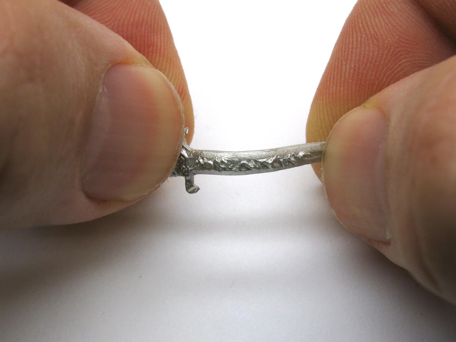 Fix Reaper Miniature's bent weapon