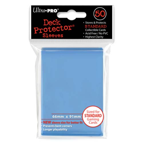Ultra Pro Lime Green 50 Count Pack Standard Size Gaming Deck Protector Sleeves