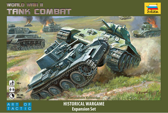 Details about World War II Tank Combat: Historical Wargame Board Game