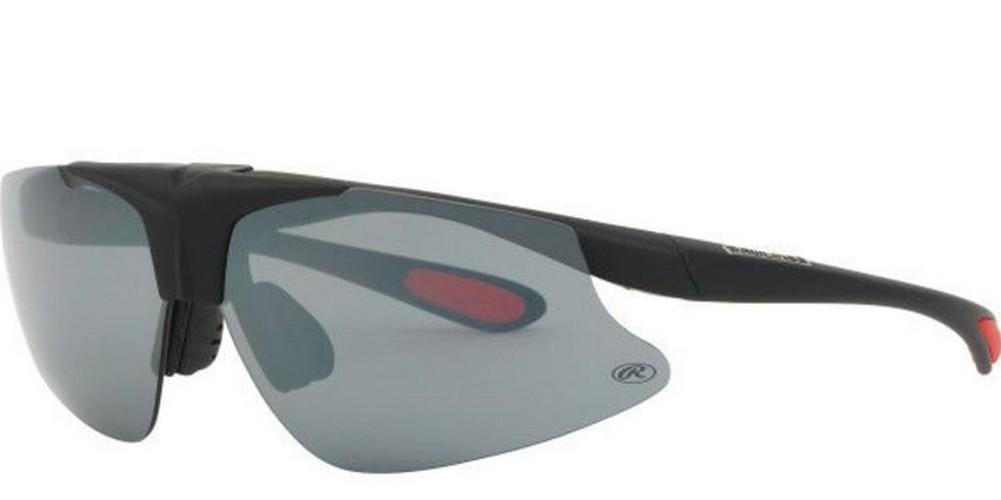 2aa3a377472 Rawlings Flip Sunglasses Mens Adult Baseball Wrap Adult Shades Black  10203592