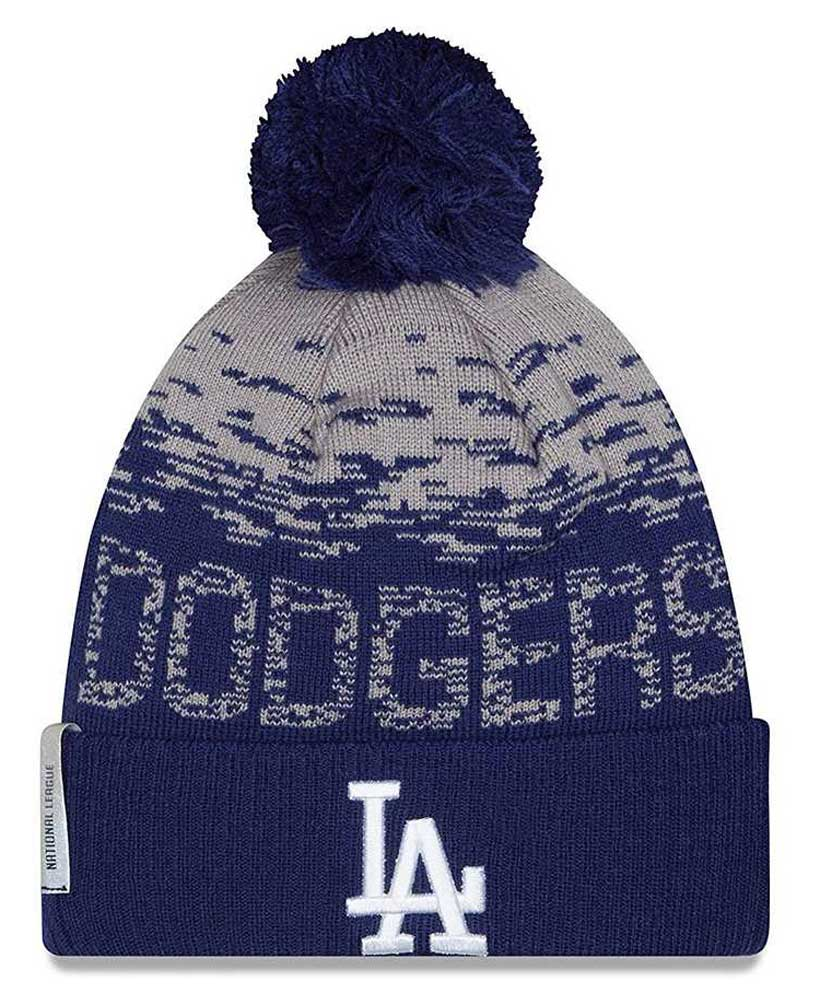 official photos d2cea d3cf1 new zealand new era los angeles dodgers mlb on field sports knit stocking  beanie 11212439 65d96
