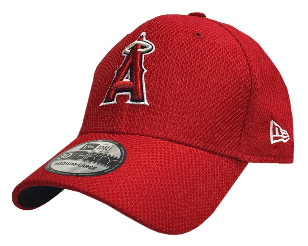 04a7fe548a8 New Era MLB Anaheim Angels Diamond Era 39Thirty Baseball Hat Cap 11403333