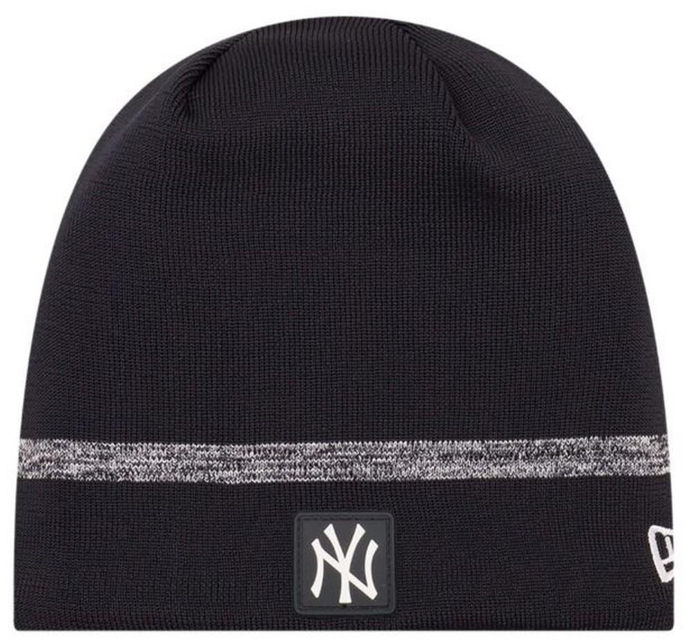 edef7e00b New Era MLB New York Yankees Clubhouse Stocking Knit Hat Beanie Skull Cap  Black
