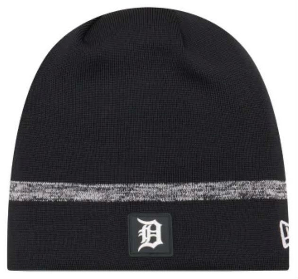 1cf67173698a1b New Era MLB Detroit Tigers Clubhouse Stocking Knit Hat Beanie Skull Cap Navy