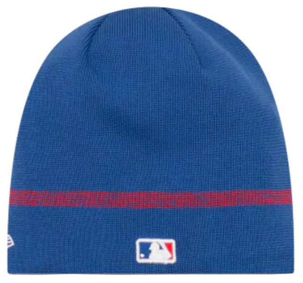 Details about New Era MLB Chicago Cubs Clubhouse Stocking Knit Hat Beanie  Skull Cap Royal 62f34382ff5