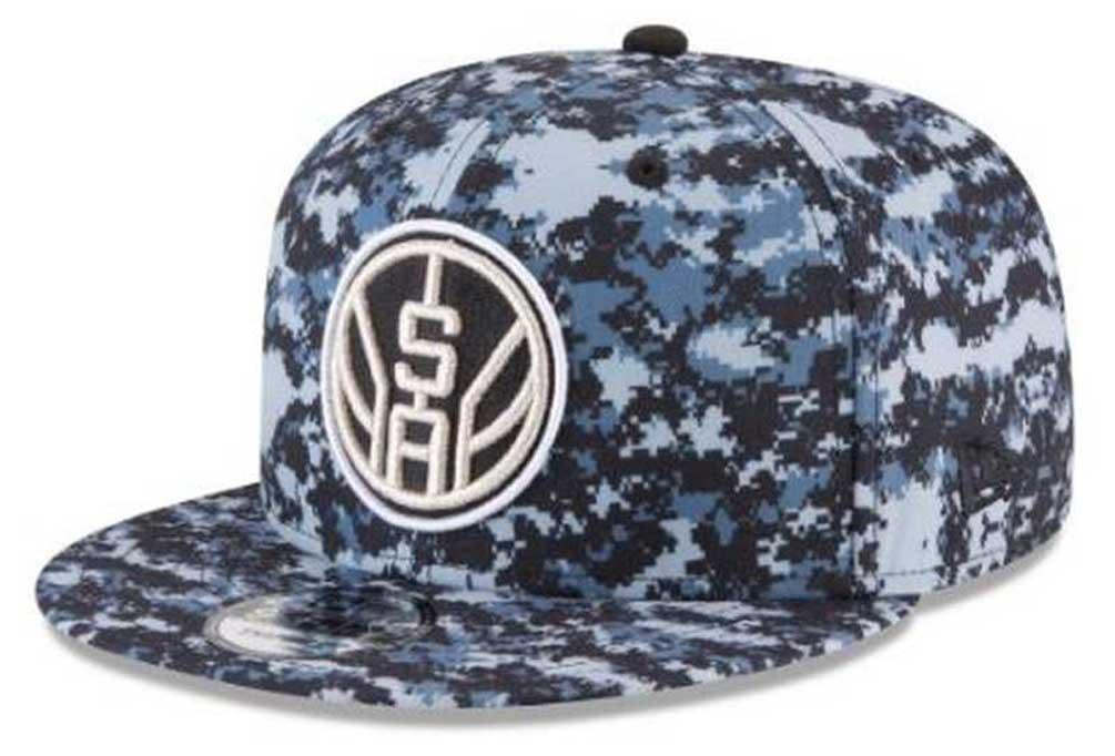 1697b8061e1 New Era NBA City Series San Antonio Spurs 9Fifty Snapback Hat Cap 11543293