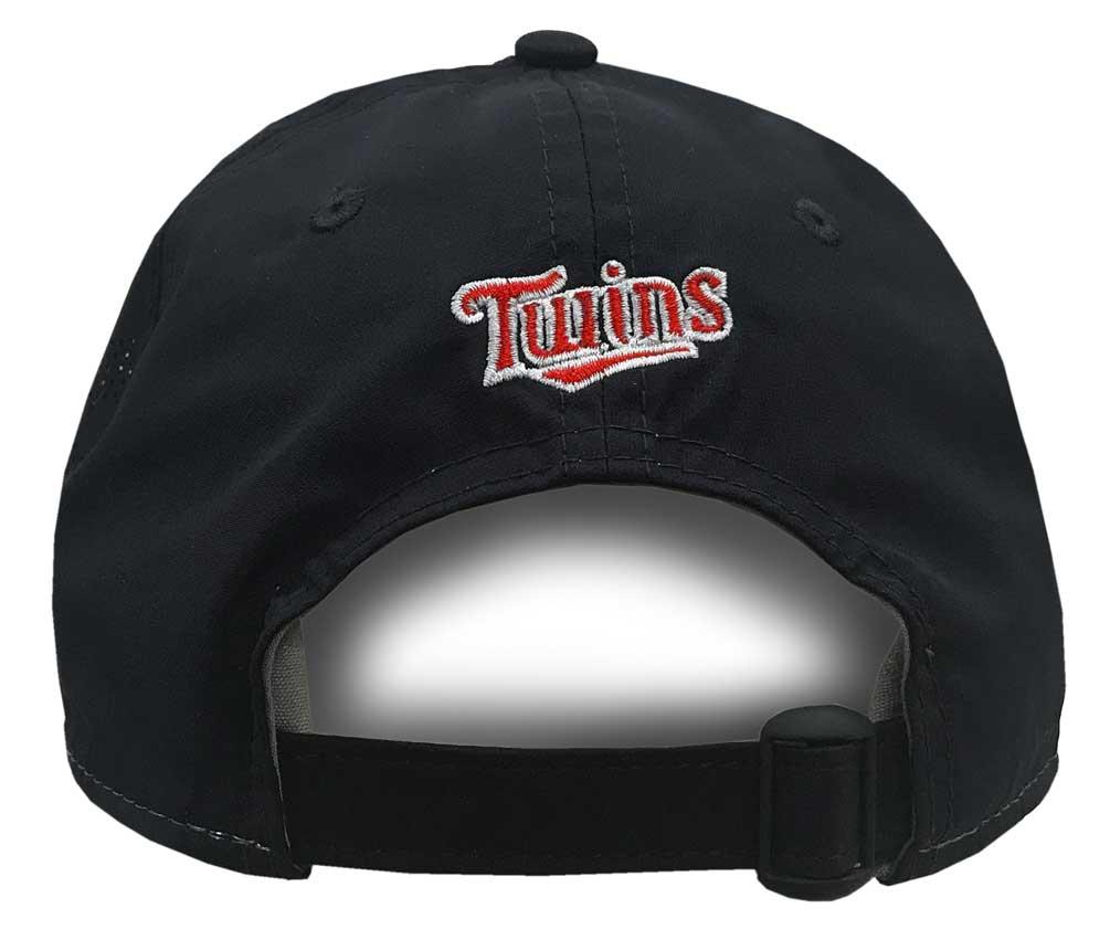 detailed look f4bf0 be672 New Era MLB Minnesota Twins Road Batting Practice Baseball Hat 9Twenty Cap  Navy 11571142 Fan Shop