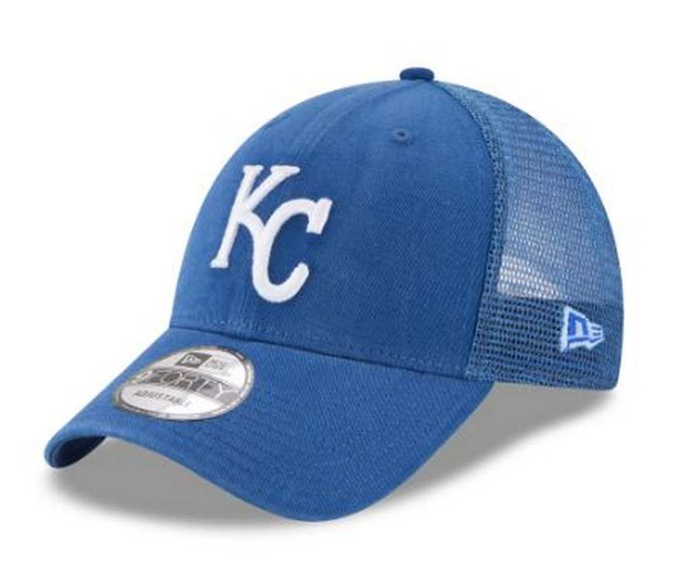 9f9a56d928b New Era MLB Kansas City Royals Trucker 9Forty Adjustable Baseball ...