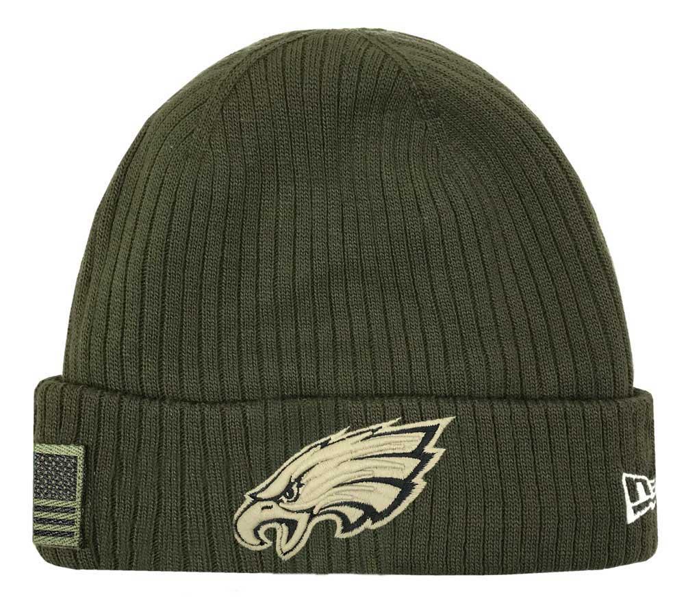 c2459f28d4d New Era 2018 NFL Philadelphia Eagles Salute to Service Knit Hat Stocking  Beanie