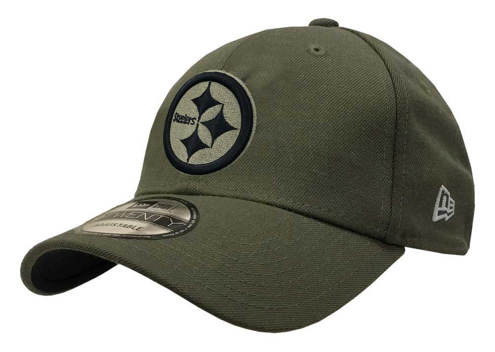 New Era 2018 NFL Pittsburgh Steelers Salute to Service Baseball Cap 920  Military 59c2fa42f