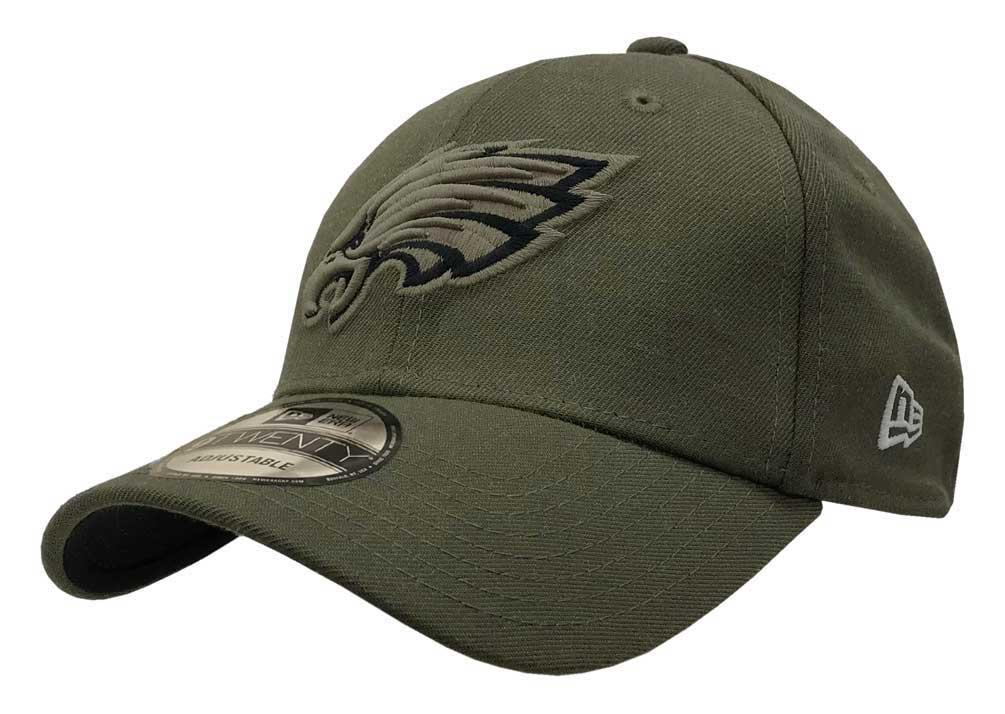New Era 2018 NFL Philadelphia Eagles Salute to Service Baseball Cap 920  Military ccfa7ac341c