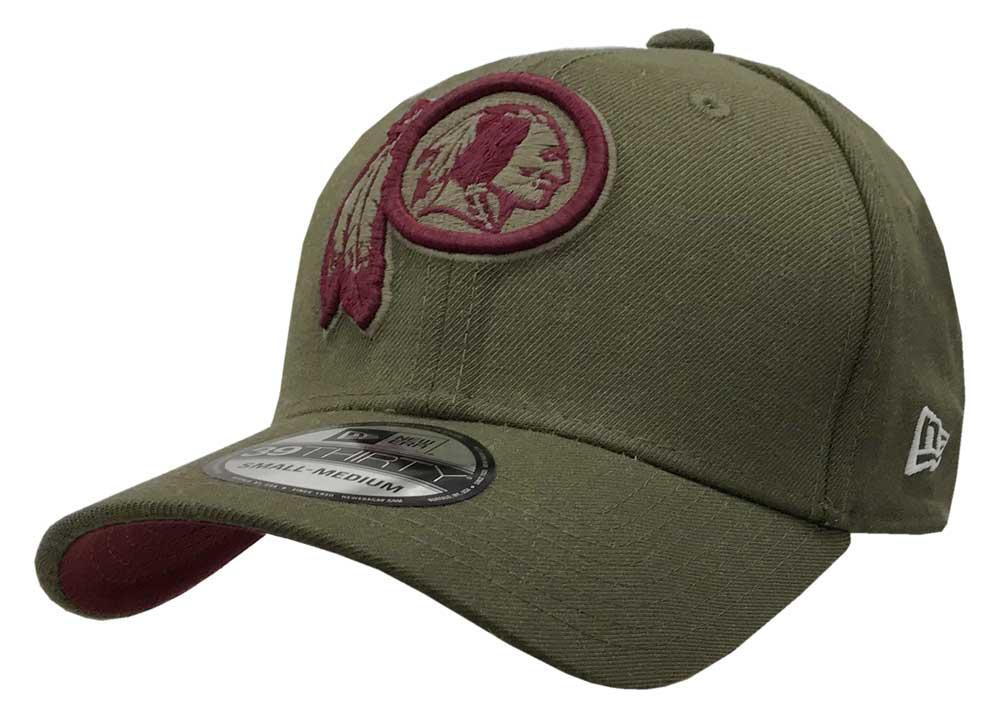 7a6ca59affccf New Era 2018 39Thirty NFL Washington Redskins Hat Cap Salute to .