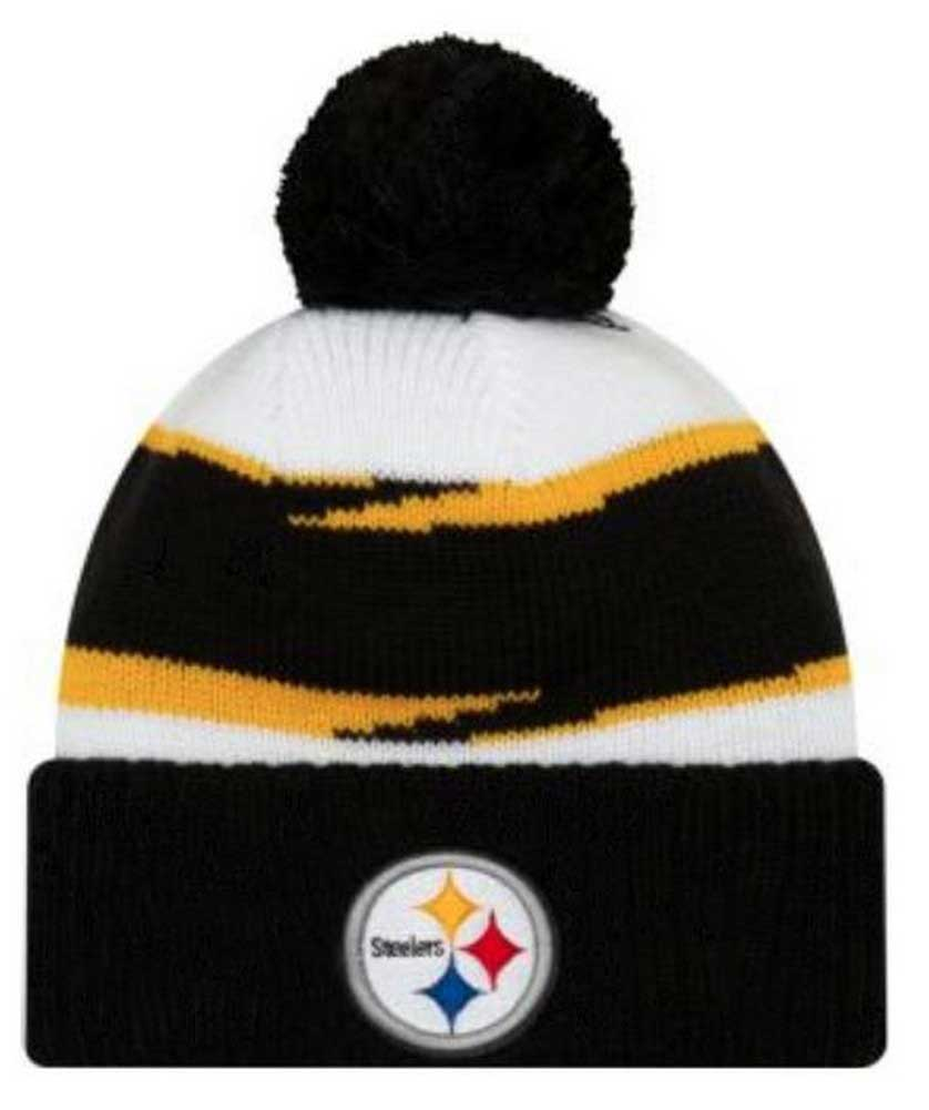 5e18205b1 New Era 2018 NFL Pittsburgh Steelers Thanksgiving Stocking Knit Hat Beanie  POM