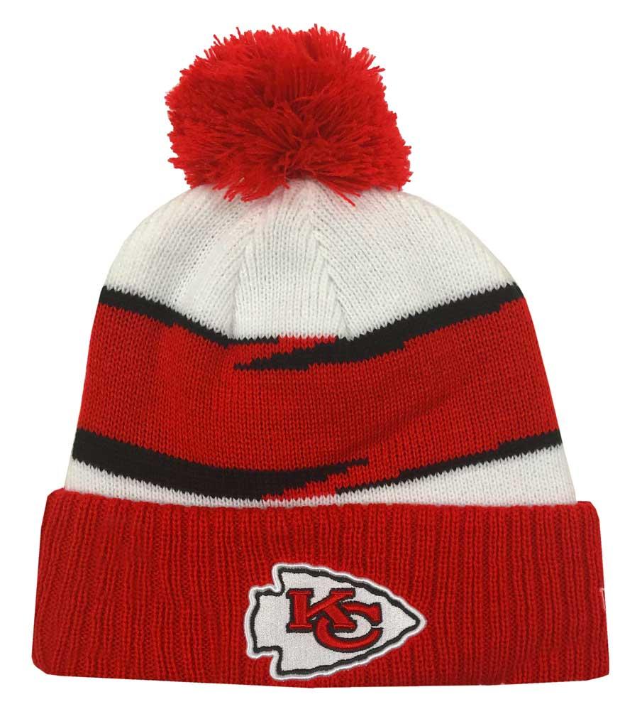 san francisco 5db10 662e6 New Era 2018 NFL Kansas City Chiefs Thanksgiving Stocking Knit Hat Beanie  Winter