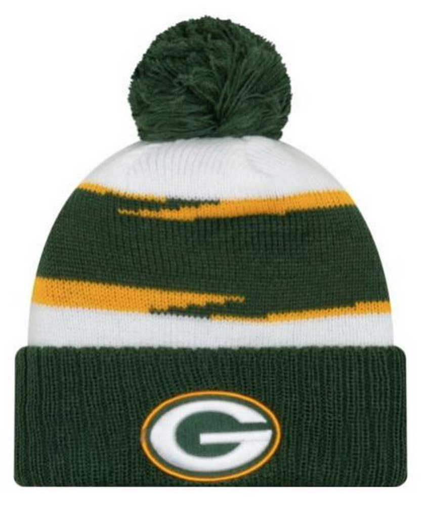 866fcd722e24d2 New Era 2018 NFL Green Bay Packers Thanksgiving Stocking Knit Hat Beanie  Winter