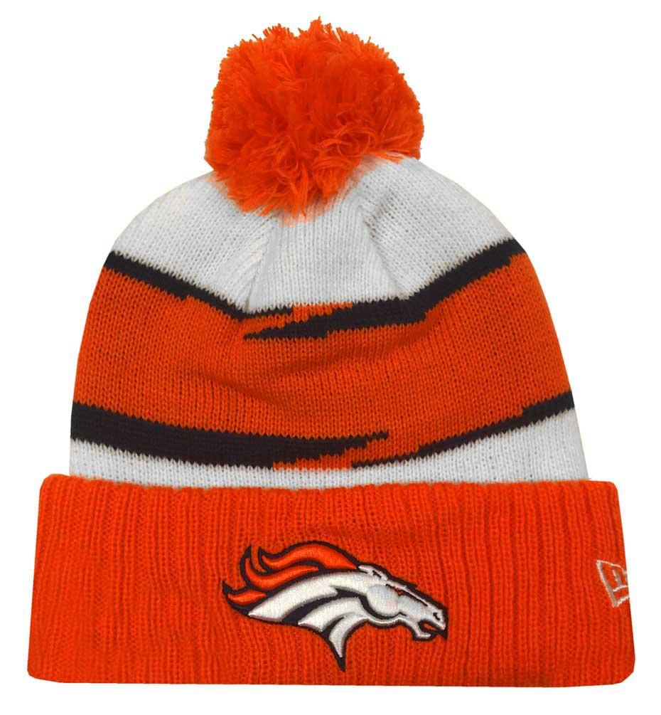 36d755916 New Era 2018 NFL Denver Broncos Thanksgiving Stocking Knit Hat Beanie Winter  POM