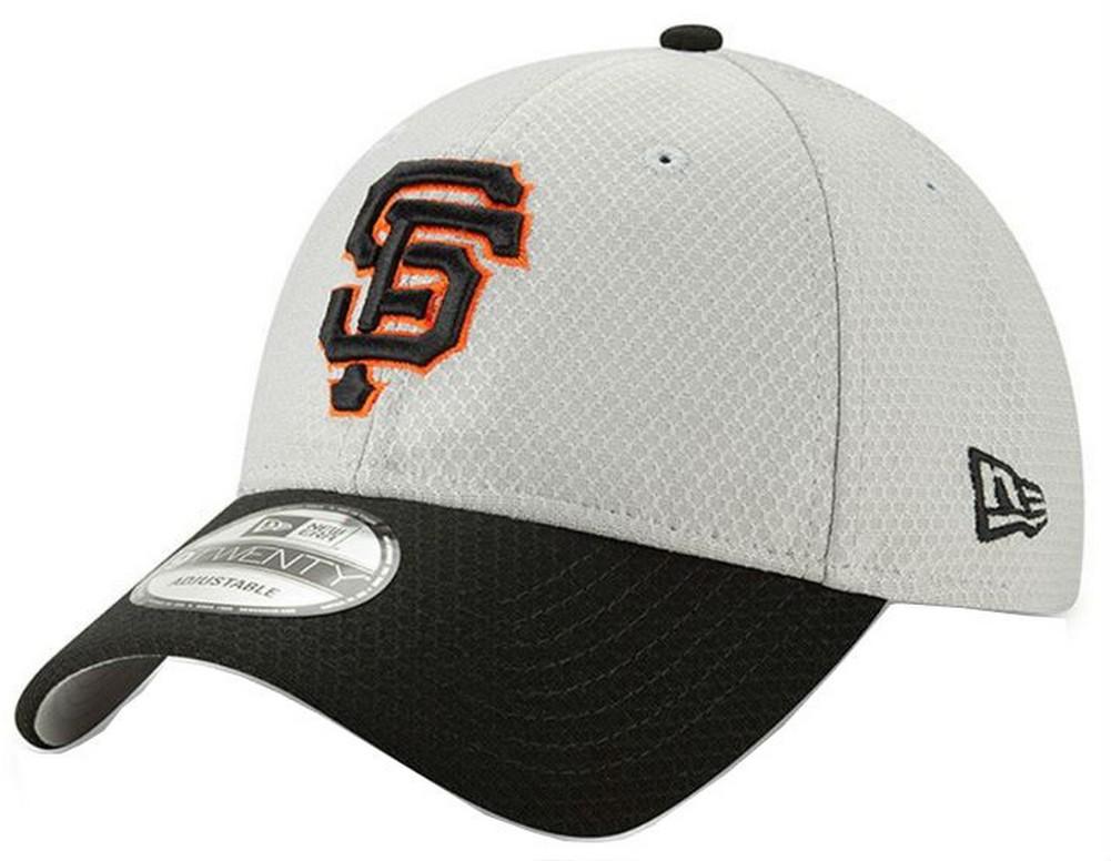 12f7e12d0fd New Era 2019 MLB San Francisco Giants Baseball Cap Hat ROAD Bat Practice  9Twenty