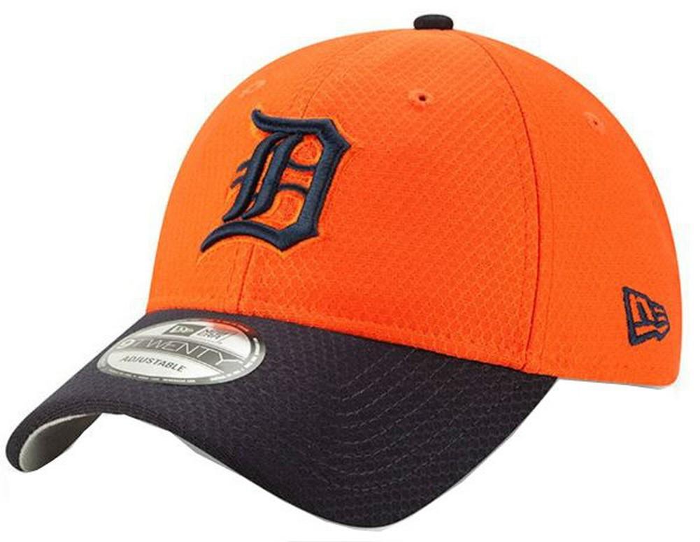 New Era 2019 MLB Detroit Tigers Baseball Cap Hat ROAD Bat Practice 9Twenty af958e78902