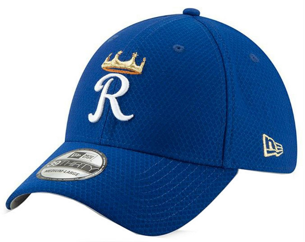 purchase cheap d8fd3 19ab7 New Era 2019 MLB Kansas City Royals Bat Practice Hat Cap 39Thirty 3930  11900157