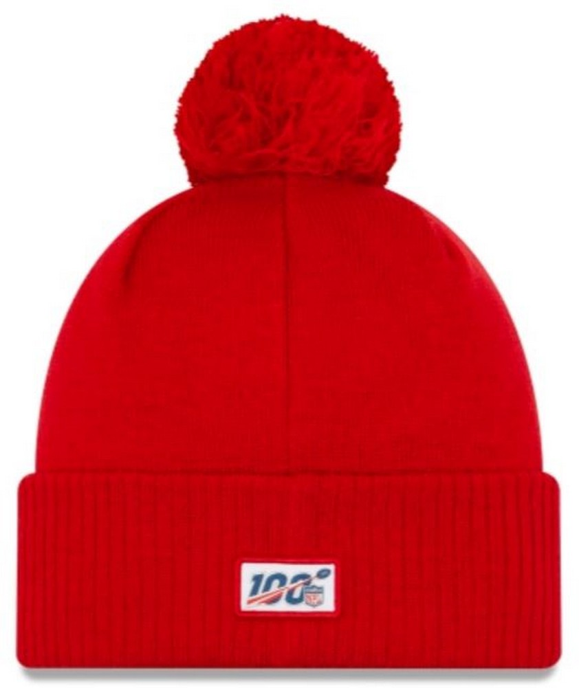 Eras edge Sideline Sport Knit Winter Fans Knit Beanie Hat Cap Kansas City Chiefs