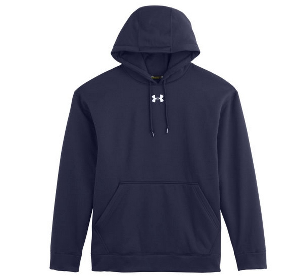 under armour men 39 s fleece team hoodie moisture wicking 1237619 ebay. Black Bedroom Furniture Sets. Home Design Ideas