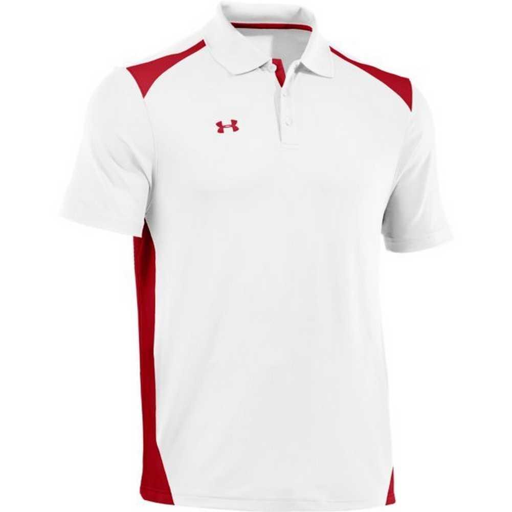 Under Armour Men 39 S Team Colorblock Polo Golf Shirt